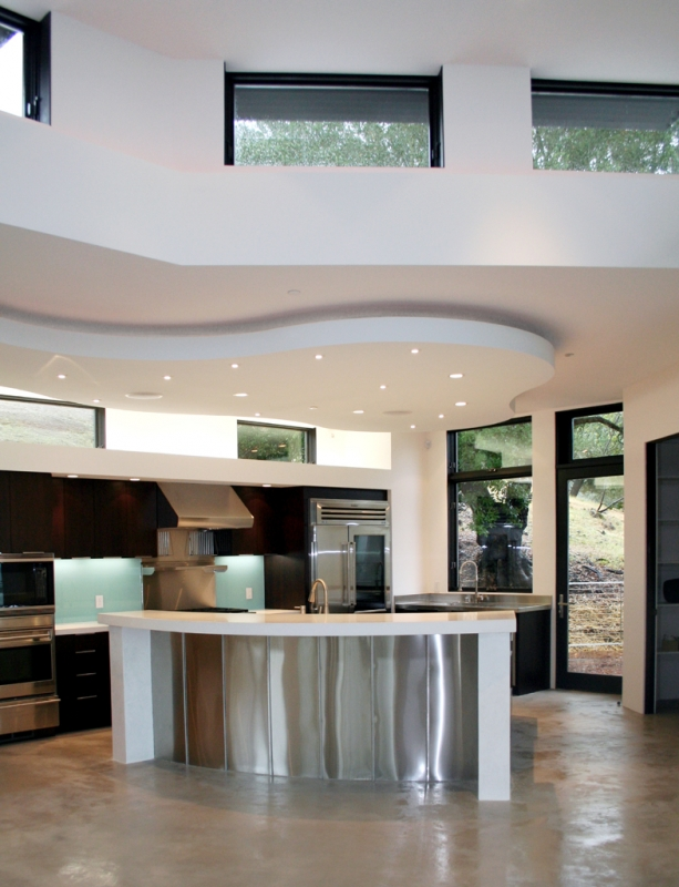 Sleek Kitchen Design  Santa Rosa, CA